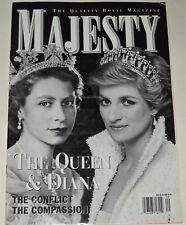 Majesty Magazine Vo 21 No 9 September 2000 The Queen & Diana Romanov's Retreat