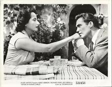 RICHARD TODD MERLE OBERON HAVE AN AFFAIR IN MONTE CARLO ORIG VINTAGE FILM STILL