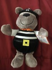 """Carters Just One You 9"""" Plush Pirate Dog Lovey Baby Rattle New Toy"""