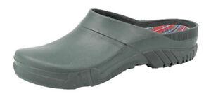 Heavy Duty Gardening Shoe Garden Mule Clog Green PVC Sizes 3-11