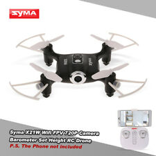 Syma X21W Wifi FPV 720P Camera Barometer Set Height RC Drone B4G5