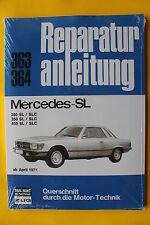 Mercedes Benz SL SLC 280 350 450 W107 R107 Reparaturanleitung Handbuch