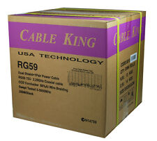 Cable King RG 59+ VDC Security Cable 240M