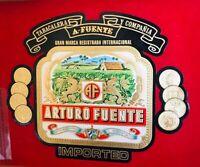 """Arturo Fuente Tabacalera  Maduro Dominican Cigar Wood Box """"Empty"""""""