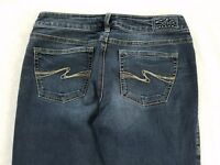 Silver Jeans AIKO Womens Size 29/31 Boot Cut Distressed Medium Wash Fit 29X30