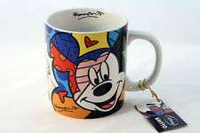 Romero Britto Disney Mickey Mouse Designer Coffee Mug Cup 16Oz (473ml) 2011