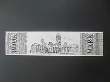 BOOKMARK Carlton Towers Yorkshire Victorian Pugin Colin Williamson Souvenir Gift