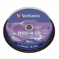 10 DVD +R DUAL LAYER 8x VERBATIM per XBOX 360 DOUBLE DL 43666