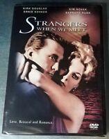 Strangers When We Meet (DVD, 2005)  Brand New! factory sealed