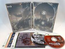 GEARS OF WAR 2 STEELBOOK LIMITED EDITION MICROSOFT XBOX 360 PAL ITA ITALIANO