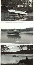 Wisconsin Dells 10 ten Real Photo postcards ca 1950s amphibian duck tour boats