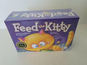 Feed The Kitty Game, Gamewright Children's Kids Ages 4+ Dice Game FACTORY SEALED