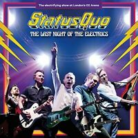 Status Quo : The Last Night of the Electrics CD Box Set with DVD and Blu-ray 4