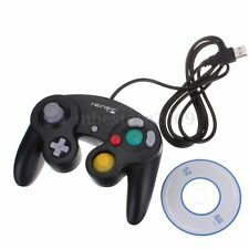 Black USB PC MAC Computer Retrolink Gamecube GC Style Controller Pad NEW IN BOX