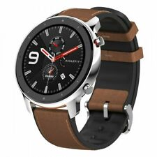 AMAZFIT GTR 47mm Sports Smartwatch Edelstahl Bluetooth DE STOCK