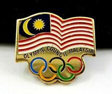 MALAYSIA NOC Olympic Committee Pin Badge 1990s Generic