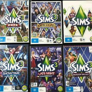 The Sims 3 PC Game - Large Selection of Titles & Expansion Packs