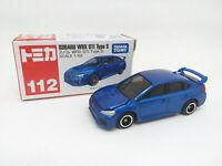 TAKARA TOMY TOMICA Subaru WRX STI Type S. Escala 1:62.