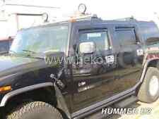 HUMMER H2 5-portes Deflecteurs de vent 2-pièces HEKO Bulles