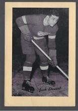 1934-44 Beehive Group I Detroit Red Wings Hockey Photos #125 Jack Stewart
