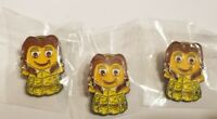 Amazon Peccy Pin- Belle. Rare! Pack of 3