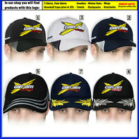 CAN-AM Baseball Cap 3D EMBROIDERED Logo ATV Motorcycle Bike Hat Mens Accessories
