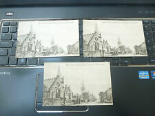 vintage postcard ALLOA    TRIO OF   BURGH SCHOOL