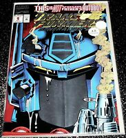 Transformers Generation 2 #1 (4.0) Metallic Collector's Ed Cover 1994 Series