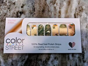 Color Street Clover the Rainbow Nail Strips Retired Unicorn Resealed Partial Set