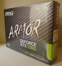 MSI Nvidia GeForce GTX 1060 6GB Gaming Graphic Card VGA with Dual Fan - NEW