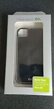 Case-Mate iPhone 4 Barely There Brushed Aluminum Case - Black.