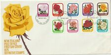 1975 New Zealand oversize FDC cover Roses