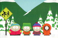 SOUTH PARK 1998 COMIC IMAGES PROMO CARD 1 OF 2