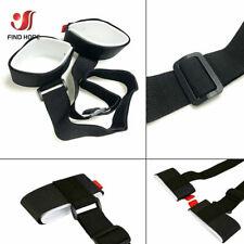 1X Black Adjustable Ski Strap Snowboard Pole Shoulder Hand Carrier  Handle Strap