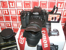 Canon EOS 70D 20.2MP Fotocamera Reflex Digitale-con tre lenti-EF-S IS STM 18-55 mm