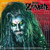 """ROB ZOMBIE """"HELLBILLY DELUXE"""" CD MIT DRAGULA NEW!"""