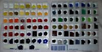"Sennelier Watercolors 98 Colors ""SAMPLE SET ONLY"" From Their Largest Box Set"