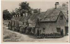 Arlington Row, Bibury Real Photograph Postcard