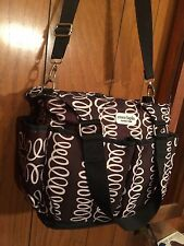 Coco Lapin Timi and Leslie Diaper Bag with Changing Pad & 2 stroller straps