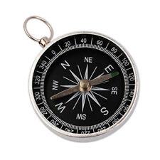 Mini Wild Hiking Compass Lightweight Aluminum Outdoor Navigation Survival Tool