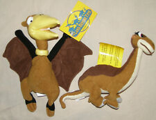 Land Before Time Toy promos Nwt Petrie Pterodactyl & Little Foot Brontosaurus