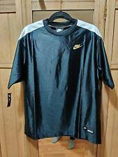 Nike Sportswear Icon Clash Women's Short-Sleeve Top CI9970-010 Small Black White