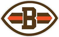 Cleveland Browns NFL Color Die Cut Vinyl Decal - Choose Size