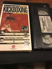 Kickboxing Heavyweight Championship Wallace Lewis Alexis Hennegan Rare VHS 1991