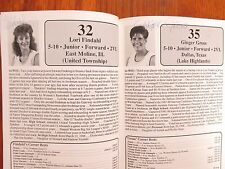 1988-89 Wichita St. Womens Basketball Guide(16 Sign/KAREN  HARDEN/LORI  FINDAHL)