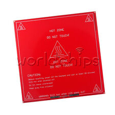 Reprap Impresora 3D PCB Heatbed Mk2a climatizada Calor Cama Para Mendel & Prusa