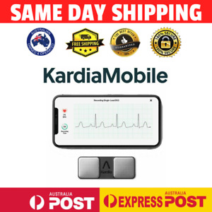 Alivecor KardiaMobile Personal Mobile EKG Monitor Wireless Afib - AU STOCK