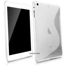 iPad Mini Clear Case Soft TPU Gel Silicone Bumper Case Back Skin Protective+Film