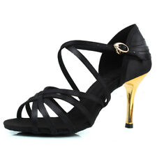 Women Latin Dance Shoes Girls Ladies Ballroom Dance Shoes High Heel Indoor Dance