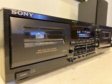 Clean Sony Tc-Wr565 Cassette Deck, Dolby C/Hx P/Auto Bias/Ams/Rms/Pitch Control